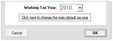 Change Default Year (Link)