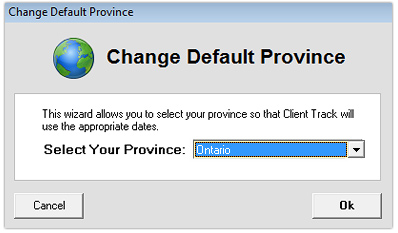 how to change province on chatr